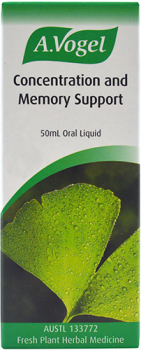 Concentration and memory support ginkgo liquid