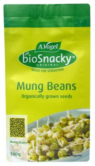 Biosnacky sprouting seeds mung