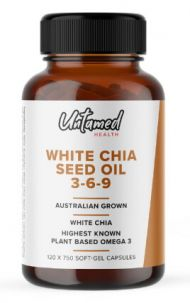 Untamed Health - White Chia Seed Cooking Oil