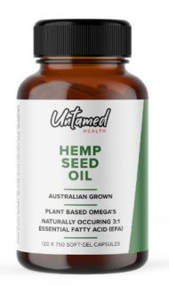 Untamed Health - Hemp Seed Oil Capsules