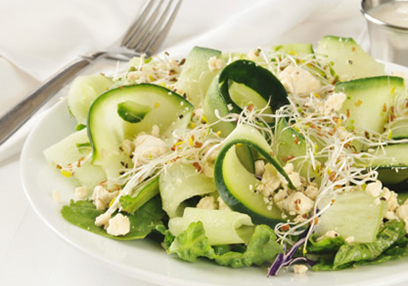 Cucumber And Feta Cheese Salad A Vogel
